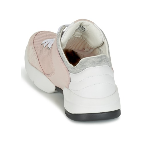 Femme Basses Rose Geox A Sfinge Chaussures Baskets Nw8nvm0