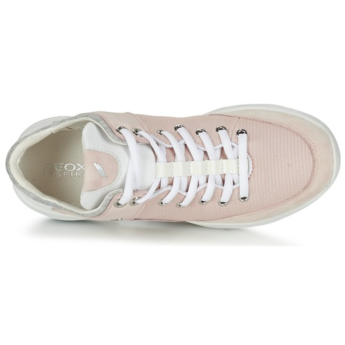 Rose Femme Baskets Sfinge Chaussures Geox A Basses 8nw0PkO