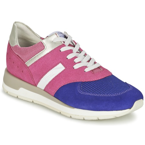 Chaussures Femme Baskets basses Geox SHAHIRA A Rose / Violet