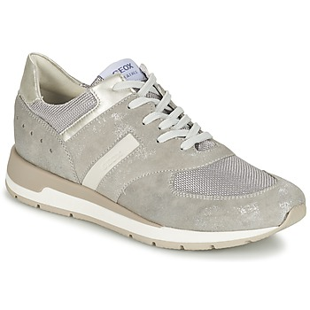 Chaussures Femme Baskets basses Geox SHAHIRA A Gris