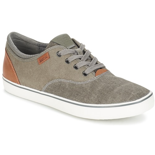 Chaussures Homme Chaussures bateau Geox SMART B Gris