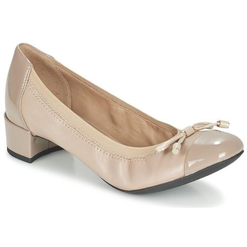 Chaussures Femme Escarpins Geox D CAREY A Taupe