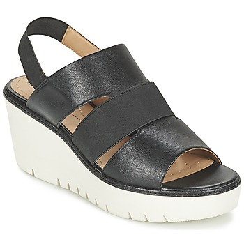 Chaussures Femme Sandales et Nu-pieds Geox D DOMEZIA B Noir
