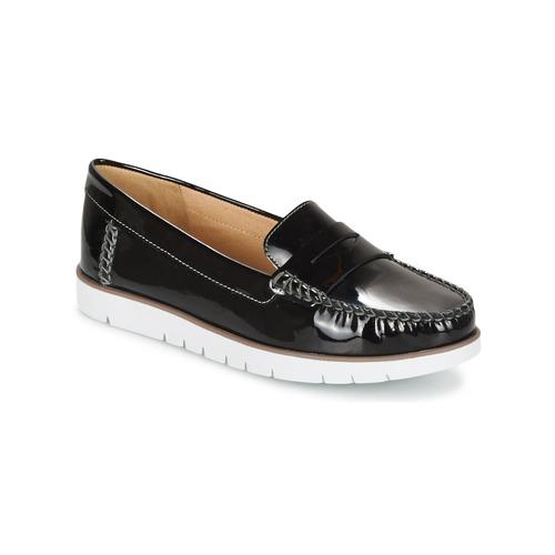 ddc0944de36e5b Geox D KOOKEAN F Noir - Livraison Gratuite | Spartoo ! - Chaussures ...