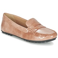 Chaussures Femme Mocassins Geox D LEELYAN B Beige