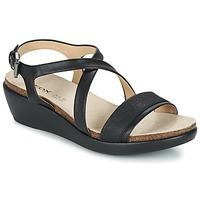Chaussures Femme Sandales et Nu-pieds Geox D ABBIE A Noir