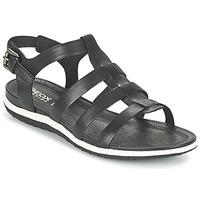 Chaussures Femme Sandales et Nu-pieds Geox D SAND.VEGA A Noir