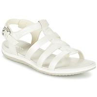 Chaussures Femme Sandales et Nu-pieds Geox D SAND.VEGA A Blanc