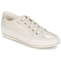 Chaussures Femme Baskets basses Geox NEW MOENA Blanc