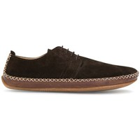 Chaussures Homme Running / trail Vivobarefoot Chaussures  Opanka Lace Handcut Homme cuir marron foncé Marron