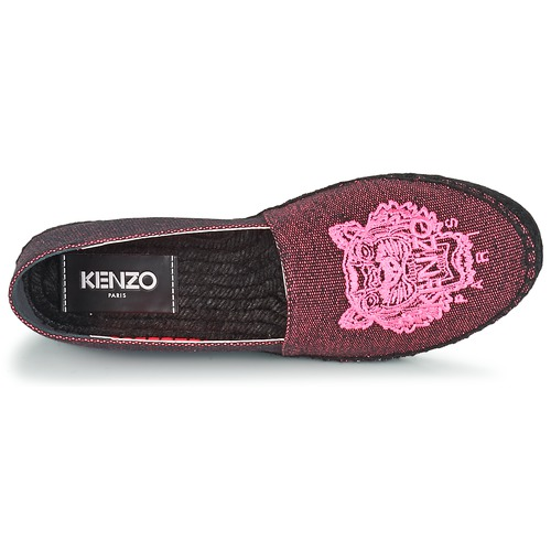 Chaussures Kenzo Mixed Tiger Femme Fluo Rose Espadrilles Canvas nN8wO0myv