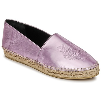 Chaussures Femme Espadrilles Kenzo TIGER METALIC SYNTHETIC LEATHER Rose