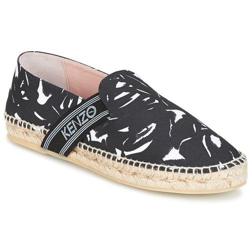 kenzo kapri noir livraison gratuite avec chaussures espadrilles femme 129 50. Black Bedroom Furniture Sets. Home Design Ideas