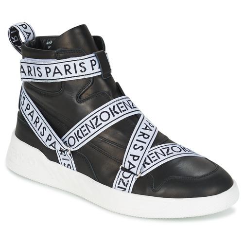 Chaussures Homme Baskets montantes Kenzo CALVIN Noir