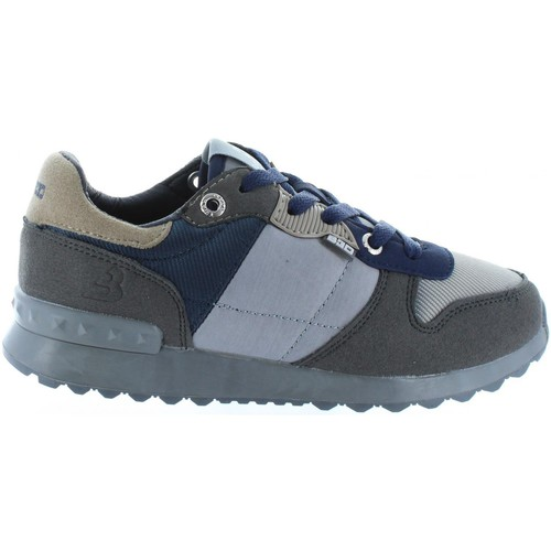 Chaussures Enfant Ville basse Bass3d 42054 Gris