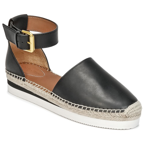 Chaussures Femme Espadrilles See by Chloé GLYN SB26150 Noir