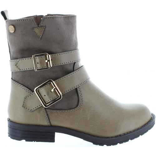 Chaussures Fille Bottes ville Xti 53839 Beige