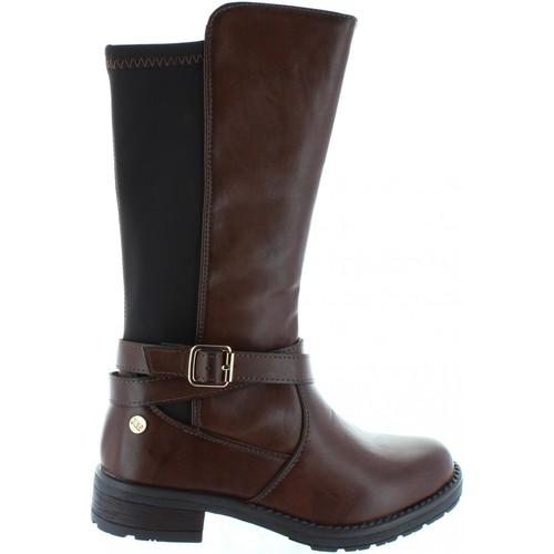 Chaussures Fille Bottes ville Xti 53967 Marrón