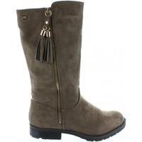 Chaussures Fille Bottes ville Xti 53805 Beige