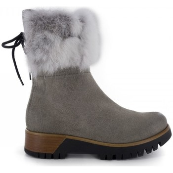 Chaussures Femme Bottines Manas Bottines Gris