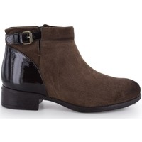 Chaussures Femme Bottines Manas Bottines Marron
