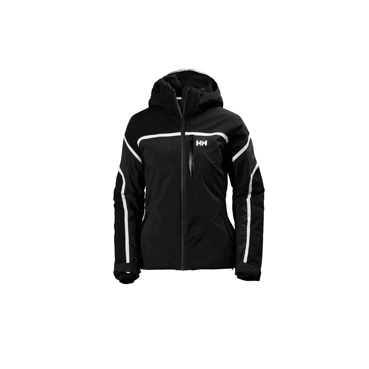 Helly Hansen W SKYLINE JACKET BLACK VESTE SKI FEMME BLACK