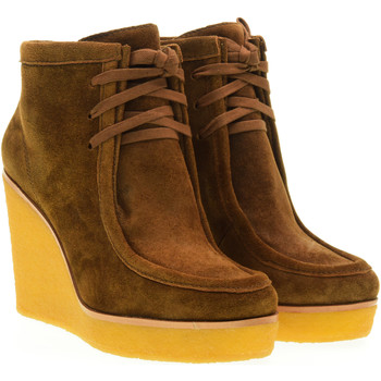 Chaussures Femme Boots What For  Marrone