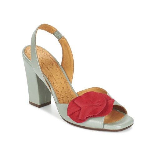 Chaussures Femme Sandales et Nu-pieds Chie Mihara ANAMI Gris / Rouge