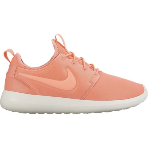 Chaussures Femme Baskets basses Nike Roshe Two Orange-Blanc