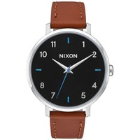 Montres & Bijoux Femme Montre Nixon Montre  Arrow Leather - Black / Brown Marron