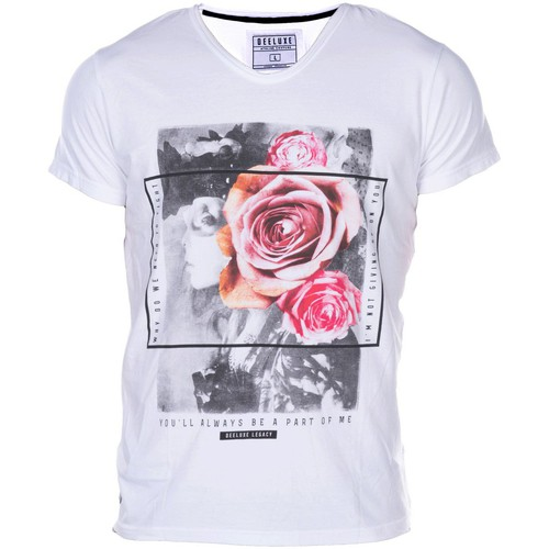 T-shirts & Polos Deeluxe T-SHIRT JUSTY blanc 350x350