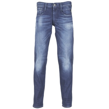 Vêtements Homme Jeans slim Replay AMBASS Bleu medium