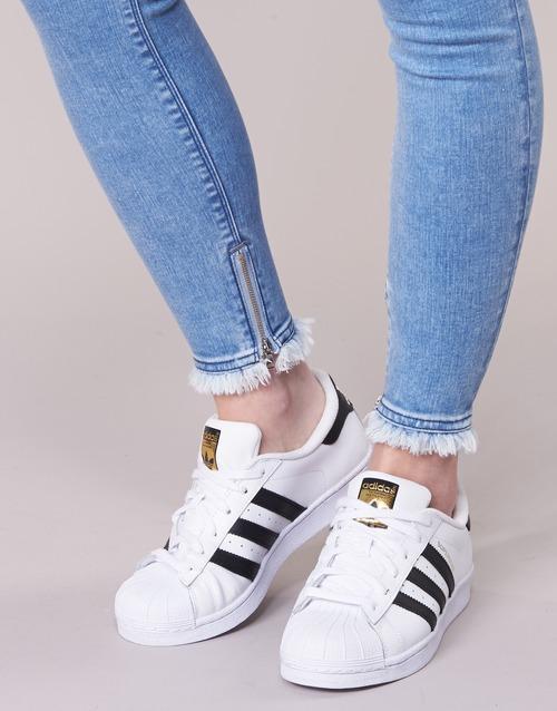 JOI  Replay  jeans 3/4 & 7/8  femme  bleu medium
