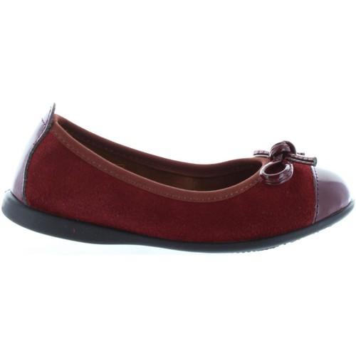 Chaussures Fille Ballerines / babies Garatti AN0086 Rojo