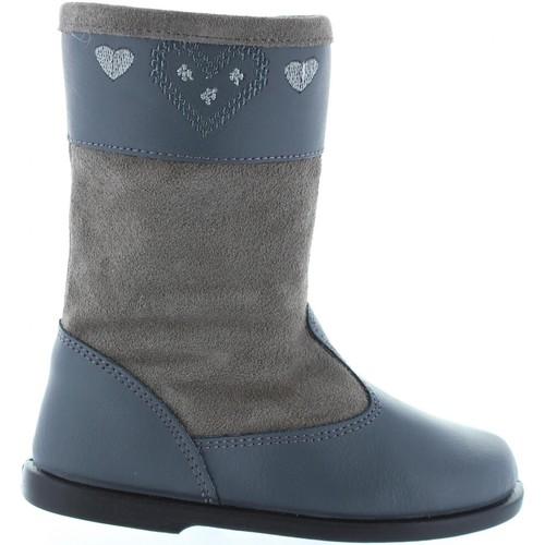 Chaussures Fille Bottes ville Garatti AN0088 Gris