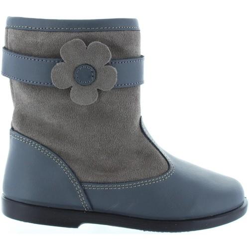 Chaussures Fille Bottes ville Garatti AN0089 Gris