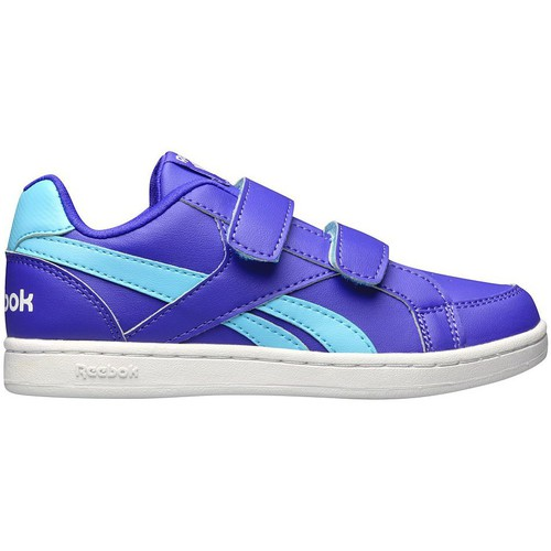 Baskets mode Reebok Royal Prime Blanc-Bleu-Violet 350x350