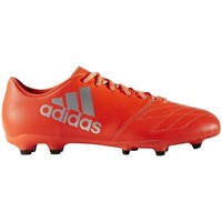 Chaussures Homme Football adidas Originals X 163 FG Leather Rouge-Argent