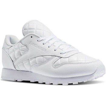 Chaussures Femme Baskets basses Reebok Sport Classic Leather Quilted Pack Blanc