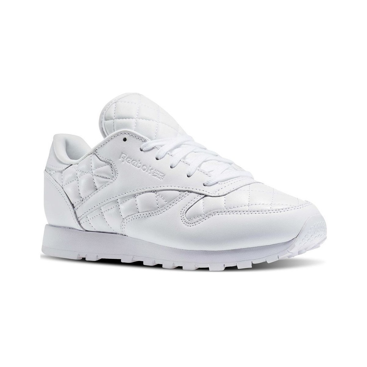 Reebok Classic Leather Quilted Pack Blanc
