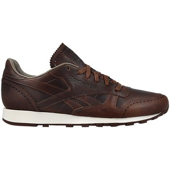 Chaussures Homme Baskets basses Reebok Sport CL Leather Lux Horw Justgolden Brownch Marron