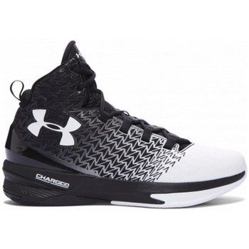 Chaussures Homme Basketball Under Armour Clutchfit Drive 3 Blanc-Noir