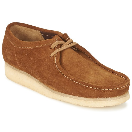 Chaussures Homme Derbies Clarks WALLABEE Marron
