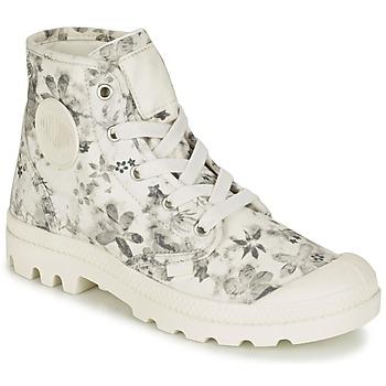 Chaussures Femme Boots Palladium US PAMPA HI F Ecru