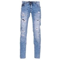 Vêtements Homme Jeans slim Le Temps des Cerises 711 JOGG Bleu Clair
