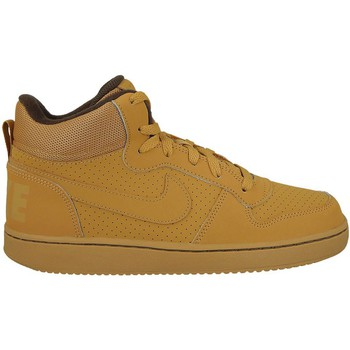 Chaussures Enfant Baskets montantes Nike Court Borough Mid GS Marron