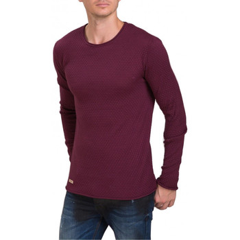 Vêtements Homme Pulls Beststyle Pull homme coton rouge Rouge