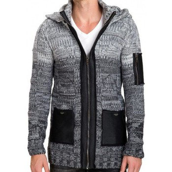 Gilets / Cardigans Beststyle Gilet homme long capuche