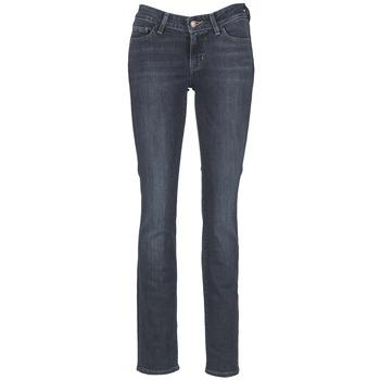Vêtements Femme Jeans droit Levi's 714 STRAIGHT Bleu