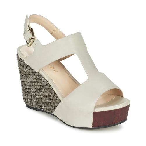 Chaussures Femme Sandales et Nu-pieds Café Noir CHANVIO Beige